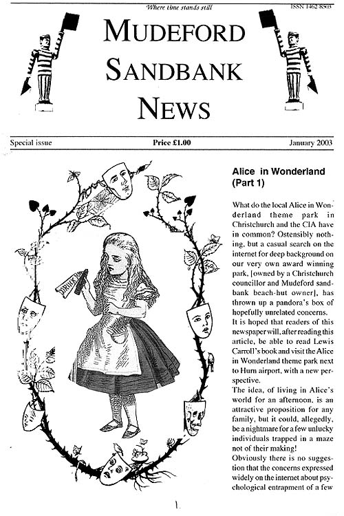 Alice in Wonderland and the CIA