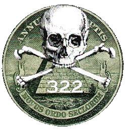 Illuminati Seal Skull Bones