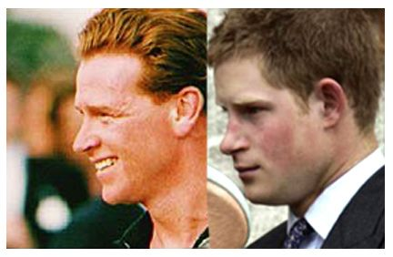 James Hewitt Prince Harry