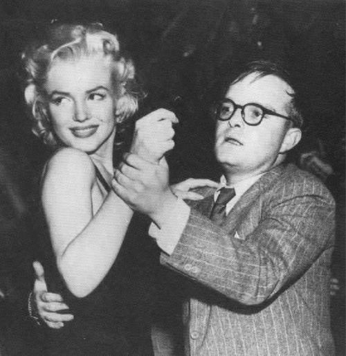 Marilyn Monroe and Truman Capote