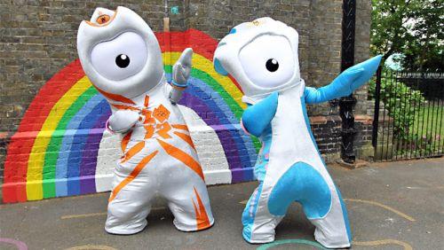 London Eye Mascot