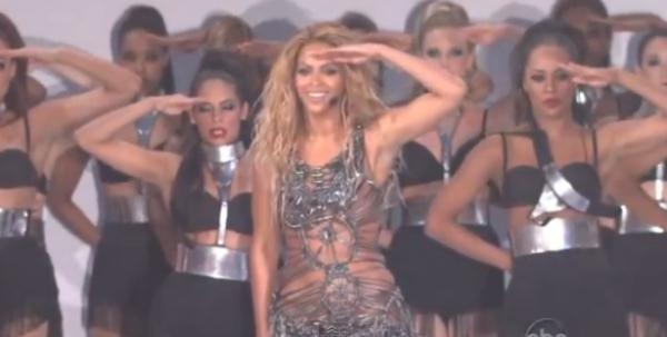 Beyonce Salute