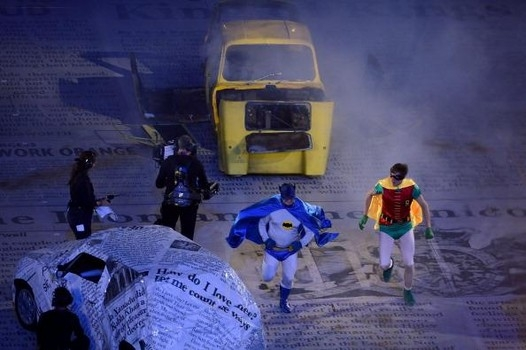 Olympics Batman