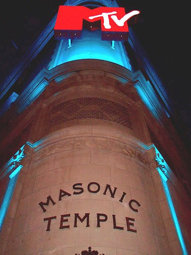 Masonic Temple MTV