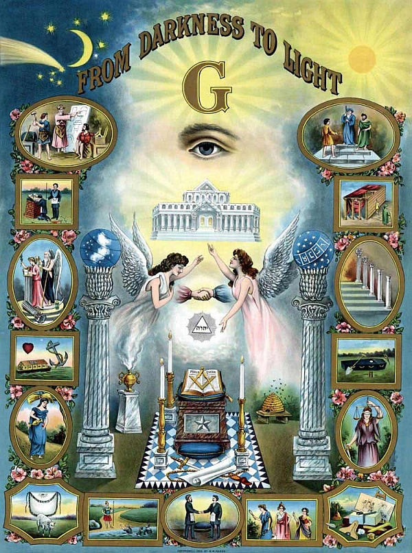 Freemasonry Darkness to Light