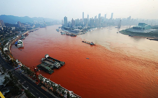 Yangtze Red Blood