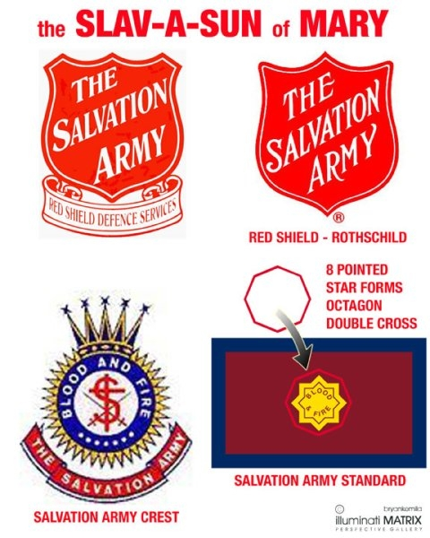 Salvation Army Red Shield