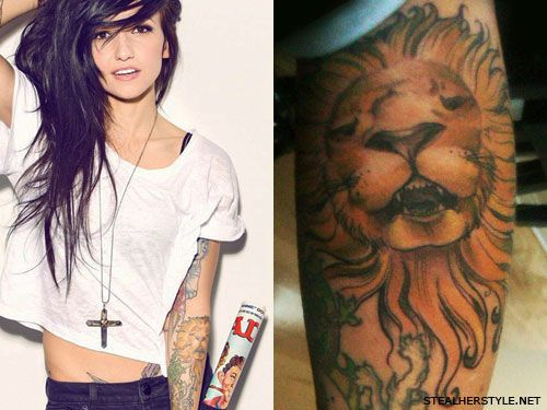 Lights Lion Tattoo