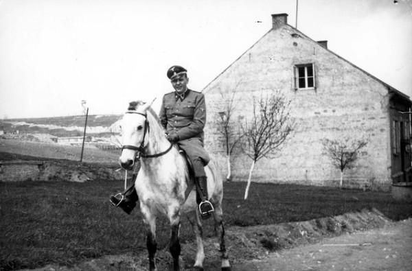 Amon Goeth White Horse