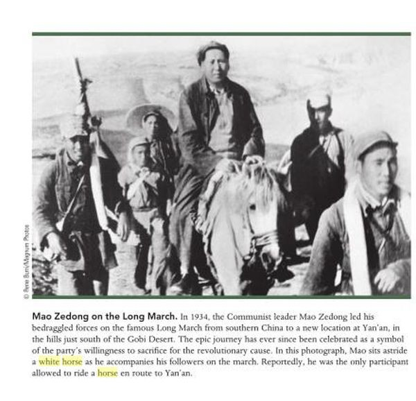 Mao White Horse